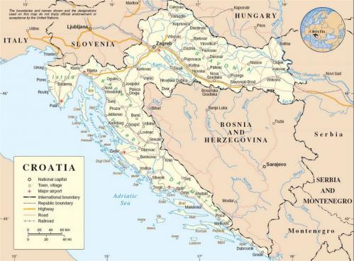 Capture croatie