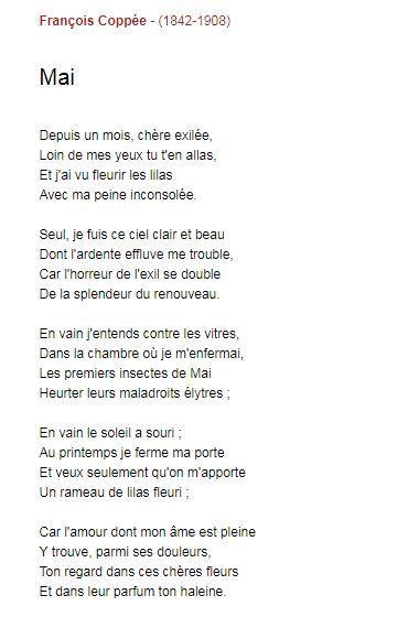 Poesie f coppee